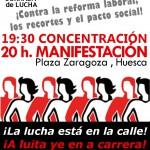 [CNT-Huesca] 26-S Concentración-Manifestación,contra la reforma laboral,los recortes y el pacto social