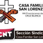 [CNT-Huesca]Comunicado de la Sección Sindical de Cruz Blanca de Huesca