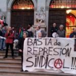[CNT-Zaragoza] Crónica de la concentración por el conflicto contra Electrónica Cerler