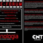[CNT-Zaragoza] Cineforum sobre la tecnología