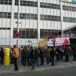 [CNT-SALUD] Crónica de la concentración contra la represión sindical en el SALUD