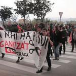 [CNT-Fraga] Huelga General en Fraga, movilización social en las calles