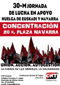 HUELGA-NAVARRA-Huesca