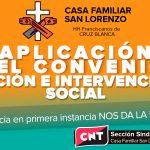[CNT-Huesca]Sección Sindical-Casa Familiar San Lorenzo-Por la aplicación del convenio de Acción e Intervención Social