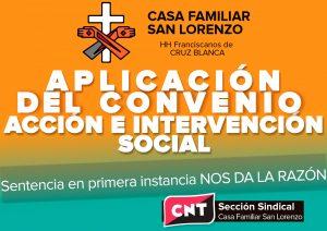 """[CNT-Huesca]Nota de prensa dela Sección Sindical""""Casa Familiar San Lorenzo"""""""