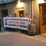 """[CNT-Tabernas B.G.] Crónica de la tercera concentración frente a """"El Champi"""" y """"La Ballena Colorá"""" en Zaragoza"""