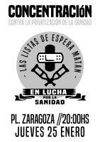 [CNT-Huesca]25 de enero-Jornada estatal contra las listas de espera