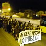 [Teruel] Casi 200 personas salen a las calles contra la represión