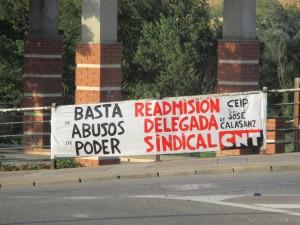 CNT Fraga Educacion CEIP San José de Calasanz