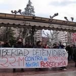 [Logroño] Solidaridad con lxs detenidxs el 22M