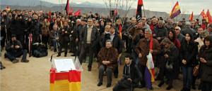 Inauguración Memorial fusilados Huesca, 14-12-14
