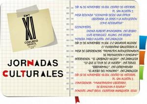 JORNADAS CULTURALES CONGRESO CNT