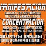 """[Zaragoza] Juicio a la Okupación, juicio a """"l@s 11 del tejado"""" -aplazado-"""
