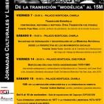 [CNT-Fraga] Jornadas Culturales y Libertarias, noviembre 2014