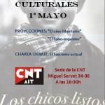 [CNT-Zaragoza] Jornadas Culturales Primero de Mayo 2014