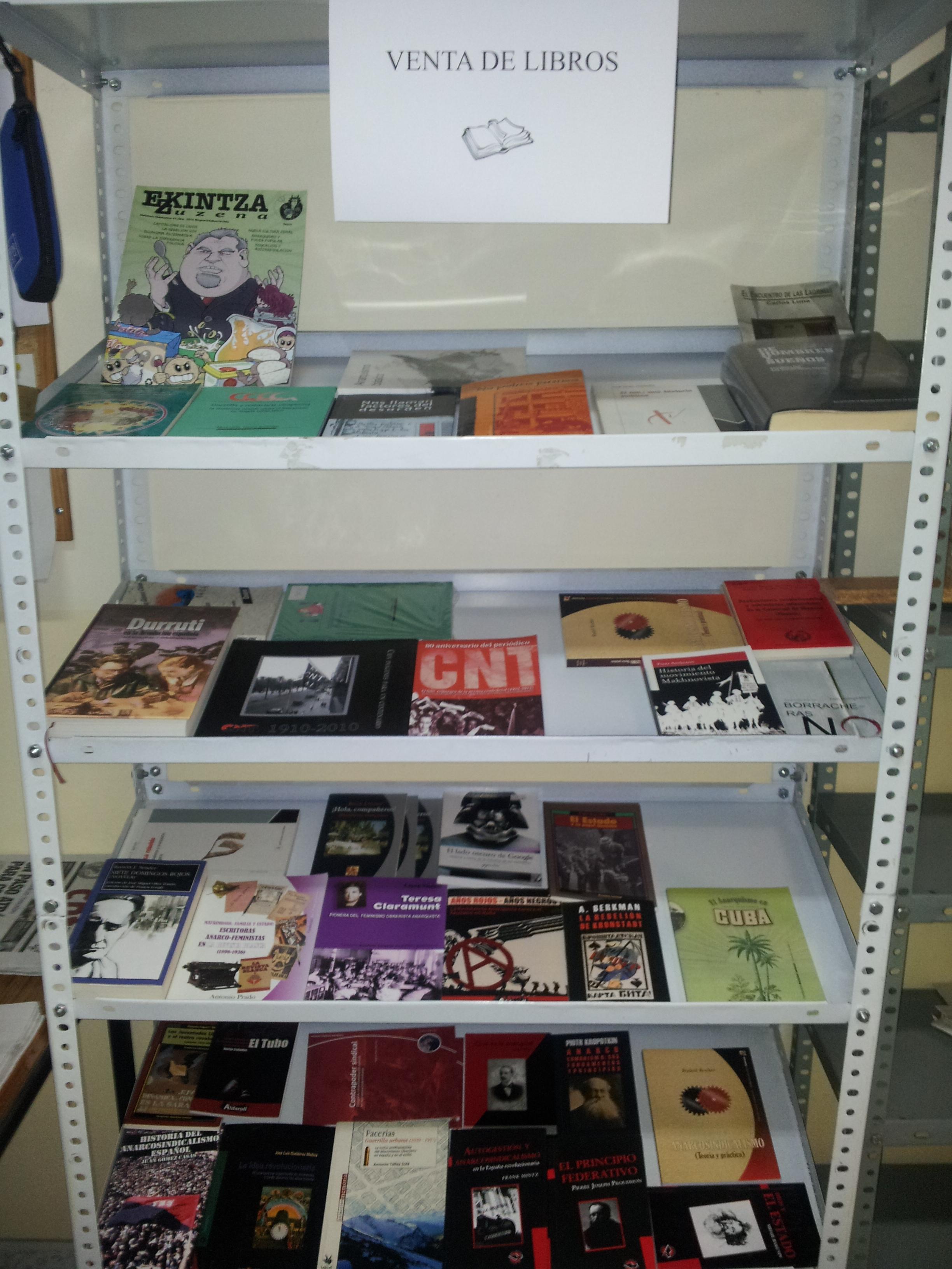 Libros-CNT-Zaragoza
