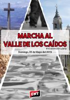 [Memoria]Convocamos el 5 de mayo una marcha por la desaparición del Valle de los Caídos.