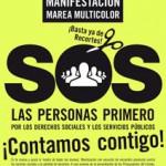 [Huesca] Domingo 25 M: Manifestación por los derechos sociales y los servicios públicos