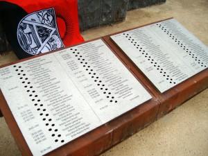 memorial huesca nombres