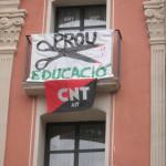 La CNT de Fraga apoya y se suma a  la jornada de huelga del 22 de mayo en el sector de la enseñanza