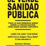 """[CNT-Huesca]Lunes 5 de junio: PRESENTACIÓN DEL LIBRO: """"Todo lo que deberías saber sobre la privatización, pero nadie quiso contarte"""""""