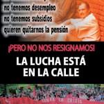 [Zaragoza] Concentración ante la sede del Partido Popular