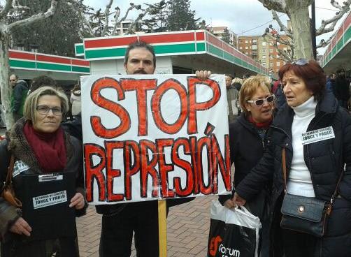 Stop Represión Logrostock