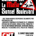 [CNT-Huesca]Continúa la campaña de denuncia al Sunset Boulevard
