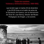 """[CNT_Huesca]Presentación del libro """"Todos los nombres. Víctimas y victimarios ( Huesca, 1936-1945)"""