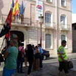 concentración en solidaridad [Valencia]