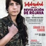 [2F] CNT Zaragoza celebrará una charla en apoyo de la campaña Make Rojava Green Again