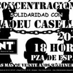 Convocada nueva concentración por Amadeu Casellas