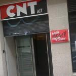 [CNT-Zaragoza] Intento de desalojo policial de nuestra nueva sede