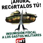 Campaña de Insumisión-Objeción Fiscal 2012