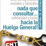 CNT pone en marcha una nueva campaña de movilizaciones y llama a extender la convocatoria de huelga general del 26S