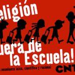 [CNT-Zaragoza] Campaña por la Apostasía: entrega declaraciones de apostasía