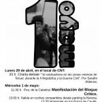 [CNT-Teruel] 1º de mayo en Teruel