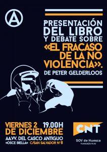 [CNT-Huesca] Presentación del libro : EL FRACASO DE LA NO VIOLENCIA. DE LA PRIMAVERA ARABE AL MOVIMENTO 15M