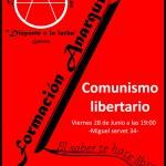 """[CNT-Zaragoza] Charla """"Anarquismo y Comunismo Libertario"""""""