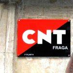 El Ayuntamiento de Fraga incumple el convenio de cesión del local con la CNT