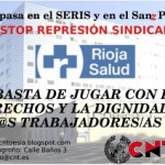 [CNT – Logroño] Represión sindical en Hospital San Pedro
