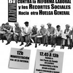 [Teruel] 1 de mayo contra los recortes y la reforma laboral