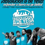 [CNT-Aragon.Rioja] Manifestación apoyo 8 de Yesa en Zaragoza 22/5 a las 12h