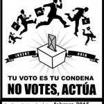 [CNT-Zaragoza] 13, 20 y 26 Febrero – Charlas Abstencionistas