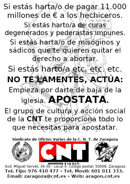 cnt-zaragoza-campaña-apostasia-2014