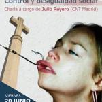 """[CNT-Zaragoza] Charla """"La caridad, control y desigualdad social"""". Viernes 20 Junio, 20h."""