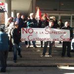 [CNT-SALUD] Crónica de la concentración contra la privatización de categorías en el SALUD.