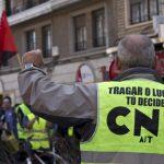[CNT-Zaragoza] Manifestación Sector Limpieza: Un convenio que se queda corto