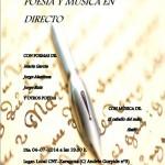 [CNT-Zaragoza] Poesía y música en directo el viernes 4 de julio, 19:30h