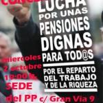 [CNT-Zaragoza] Contra la reforma de las Pensiones, concentración
